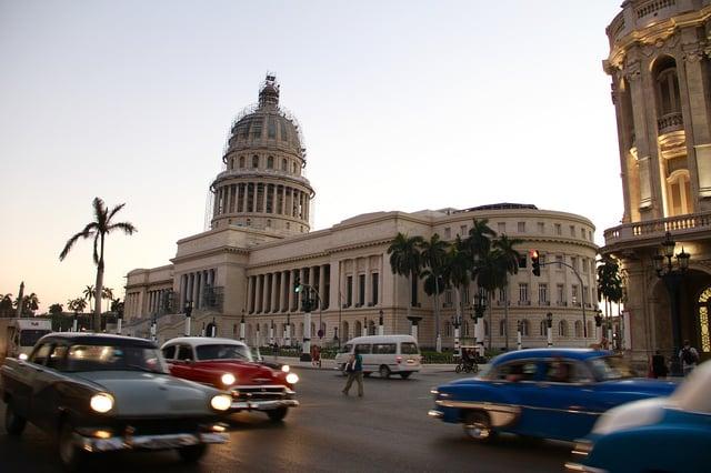voyage d'affaires à Cuba