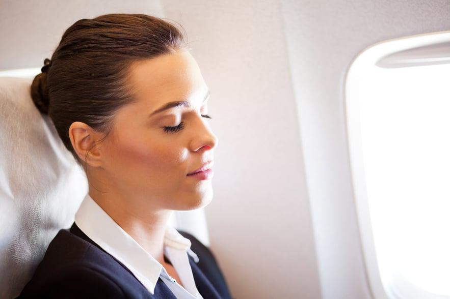 bien se reposer pendent les vols