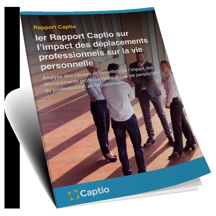 1r Rappor Captio: L'impact des déplacements professionnels sur la vie personnelle - Informes