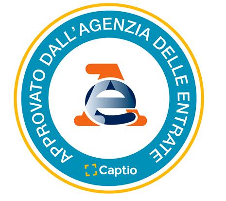 Captio, la première plate-forme de gestion des frais d'entreprise qui a reçu l'avis favorable de l'Agenzia delle Entrate