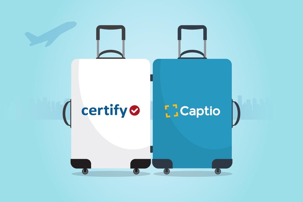 Captio et Certify joignent leurs forces